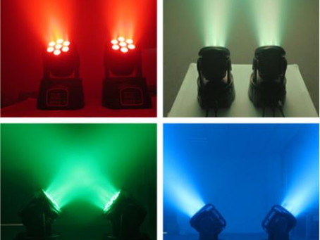 LED RGBW Moving Head - MH WASH