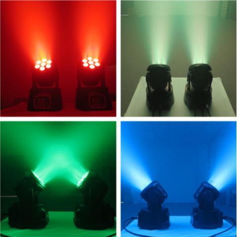 Поворотный RGBW LED рефлектор. Прокат в Праге и по всей Чехии. i-grand.com