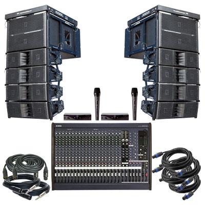 Аренда звукового оборудования Biema LIVE System в Чехии