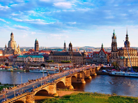 ДРЕЗДЕН + мост Бастай. (1 августа 2020)