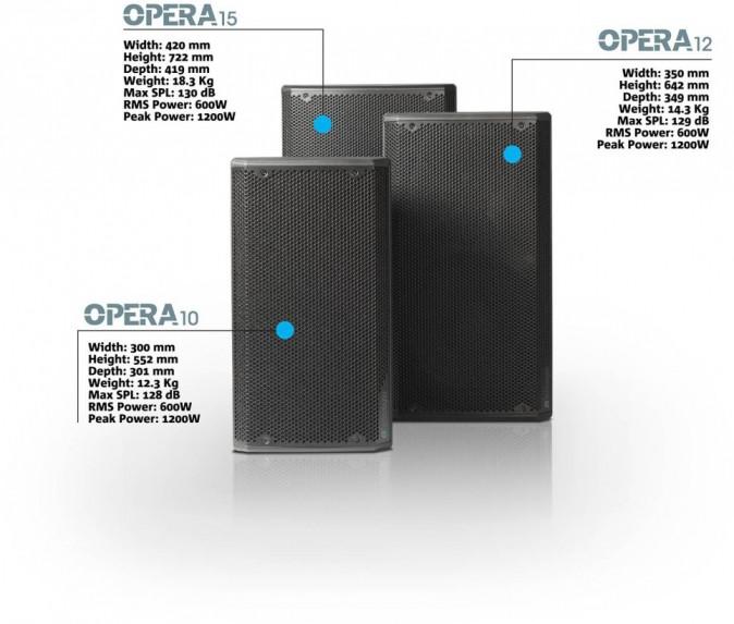 DB TECHNOLOGIES OPERA прокат звукового оборудования в Праге и по всей Чехии