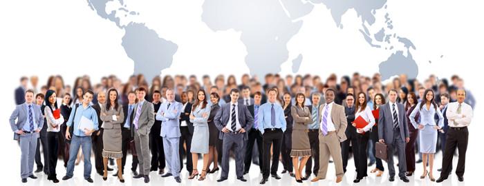 Рабочие места по всему миру