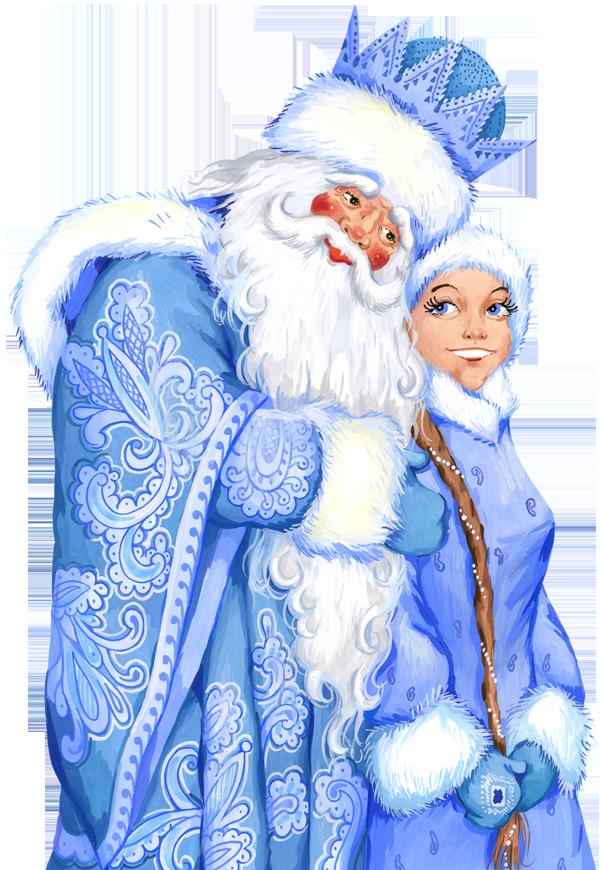 Дідусь Мороз та Снігуронька в Карлових Варах