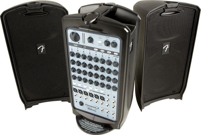 Fender Passport 500 PRO прокат звукового оборудования в Праге и по всей Чехии