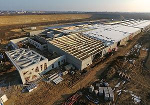 Suivi de chantier effectué sur le site de la martinerie à Châteauroux / Déols. Le CNTS centre national de tir sportif