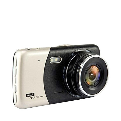 HNT กล้องติดรถยนต์ 1080 FULL HD รุ่น HCD-01 กล้องหน้า + กล้องหลัง