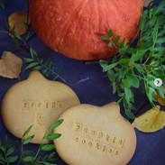 печенье тыквенное под роспись