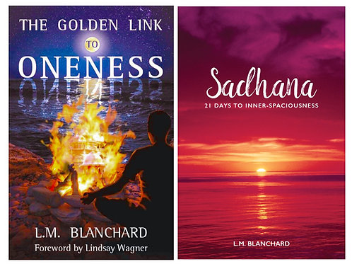 2 Books - Sadhana & The Golden Link to Oneness