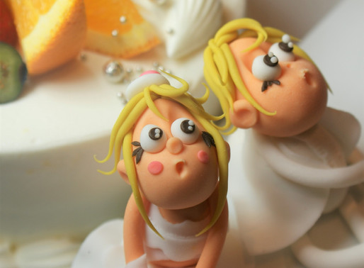 パーティを彩るウエディングケーキ☆