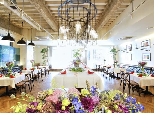名駅エリアで人気のパーティ会場☆ONE on ONE Garden Restaurant