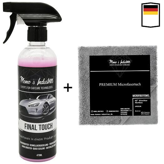 Momo's Industries ® Final Touch Premium Lack Schnellversiegelung Wachsspray Kera