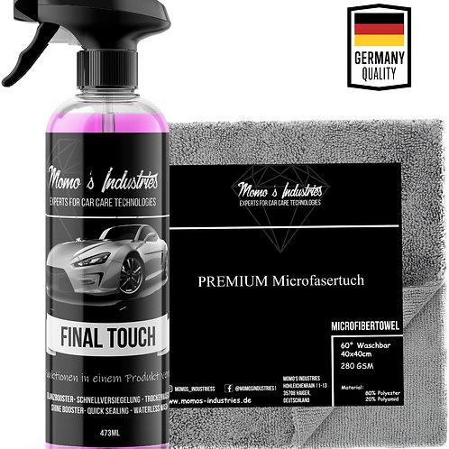 Momo's Industries ® Final Touch Premium Lack Schnellversiegelung Wachsspray