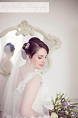 Carolyn Clayton Wedding Hair North east northumberland newcastle
