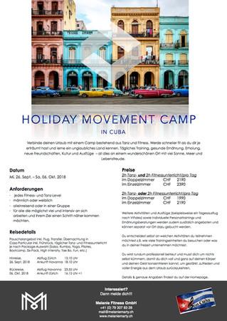 Dein Urlaub - Holiday Movement Camp