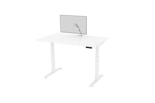 Height Adjustable Desk & Monitor Arm Set