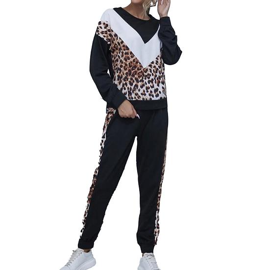 Adalynn Leopard Set