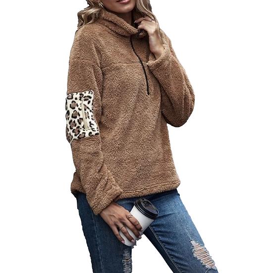 Regina Leopard Pullover