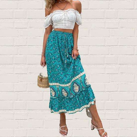 Cerella Floral Skirt
