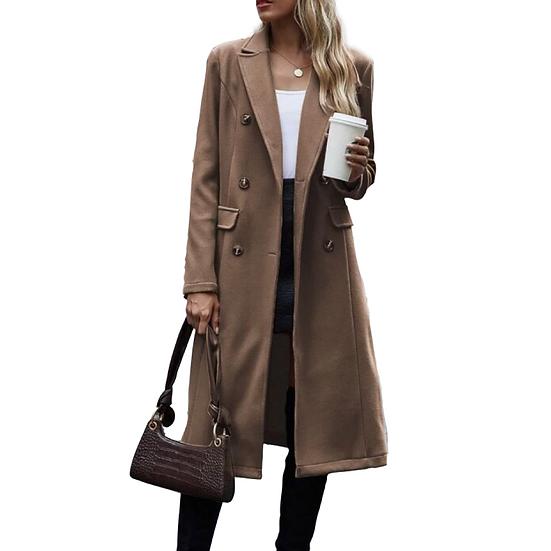 Mocha Latte Pea Coat
