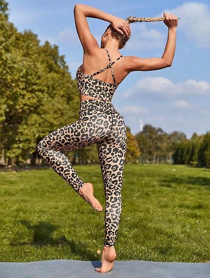 Lindsy Leopard Legging Set