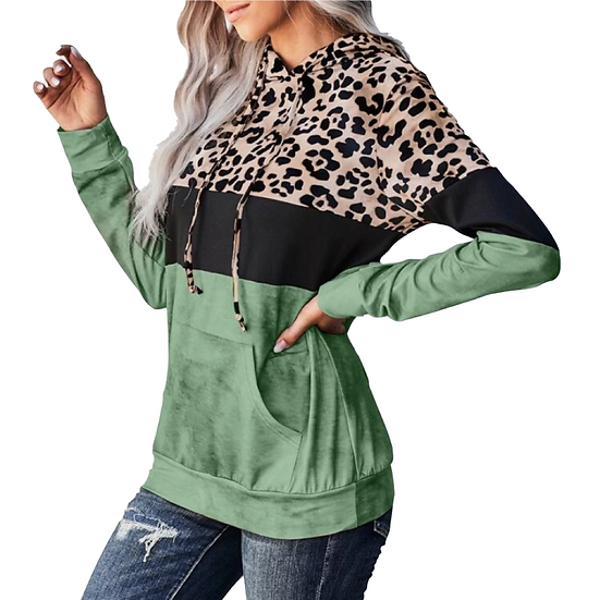 Noella Leopard Hoodie
