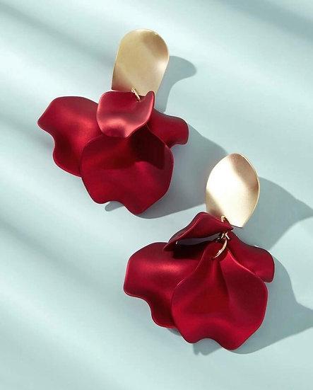 Beauty's Rose Petal Earrings