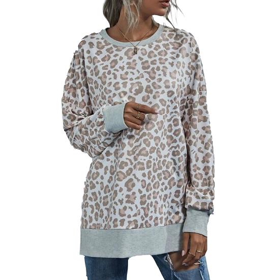 Laura Leopard Sweatshirt