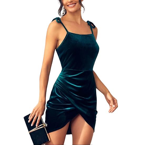 Beth Velvet Dress