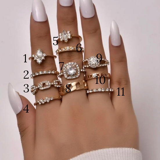 Oakleigh Rings