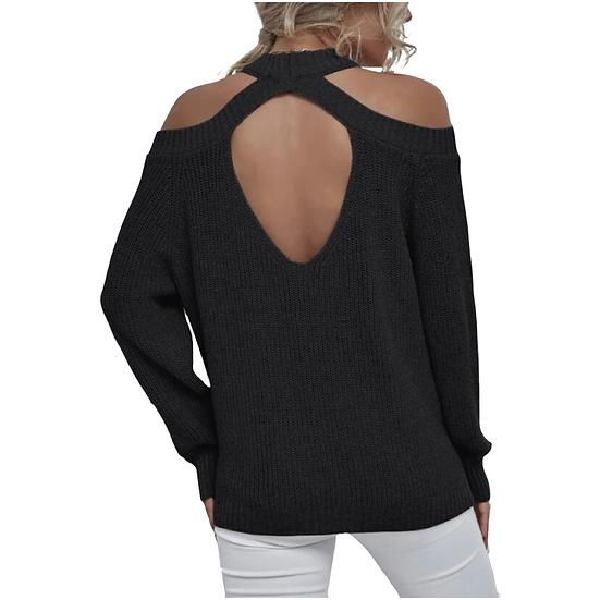 Camila Keyhole Sweater