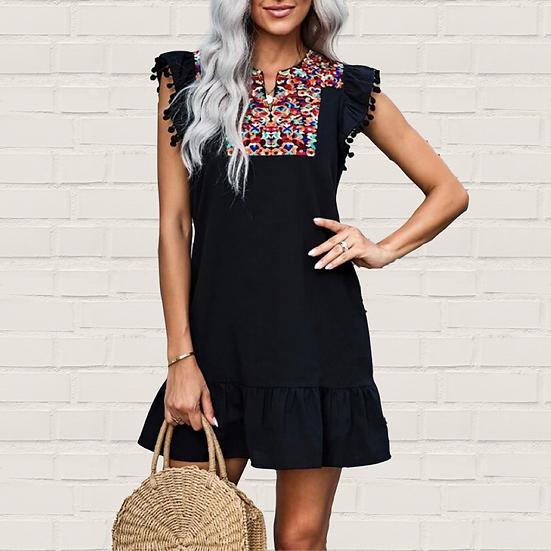 Sadie Jae Embroidery Dress
