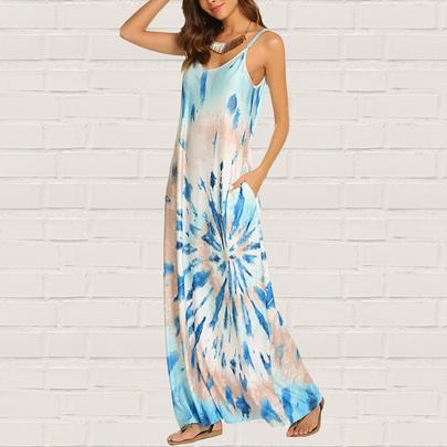 Crystal Tie Dye Dress