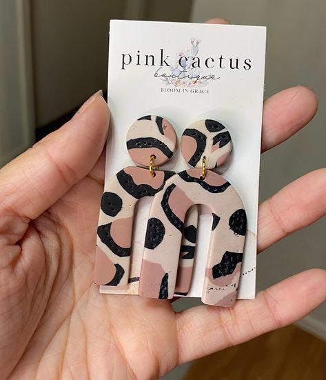 Lauren Leopard Earrings