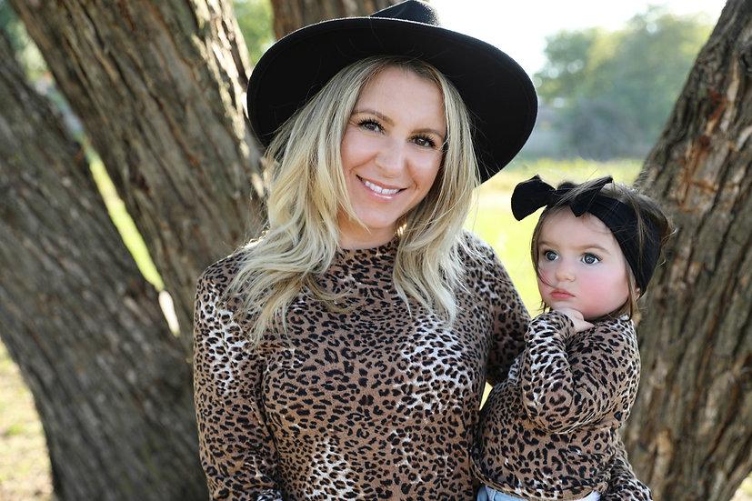 Camille Leopard Longsleeve