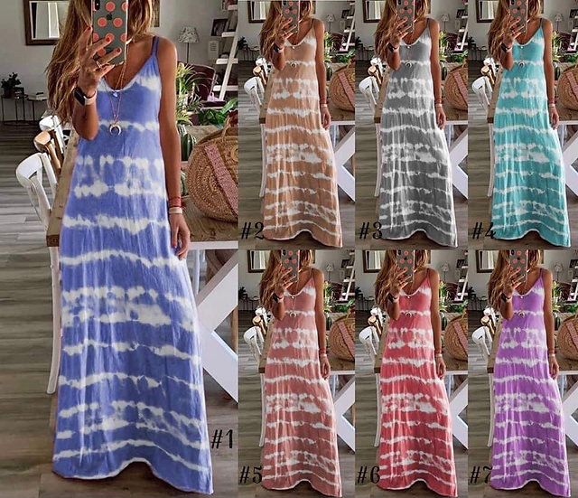 Tillery Tie Dye Dress