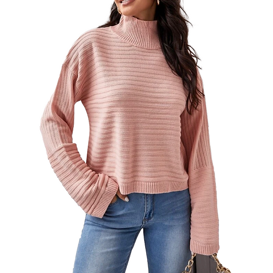 Kelli Lantern Sleeve Sweater