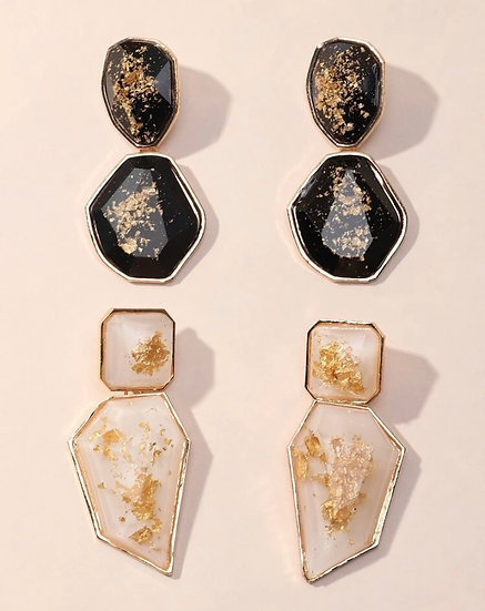 Avery Speckled Earrings