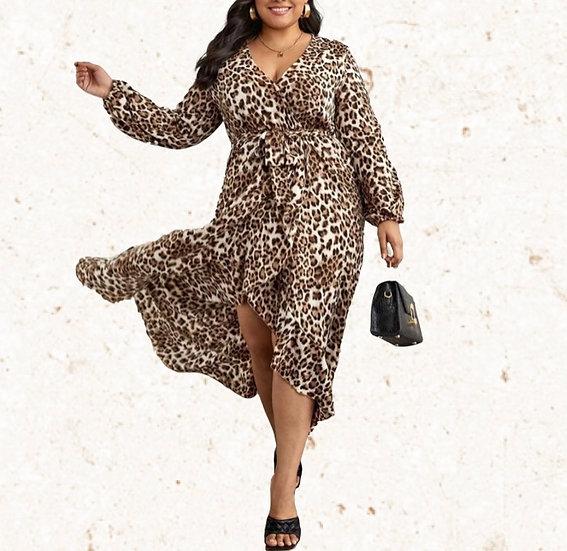 Christy Leopard Dress