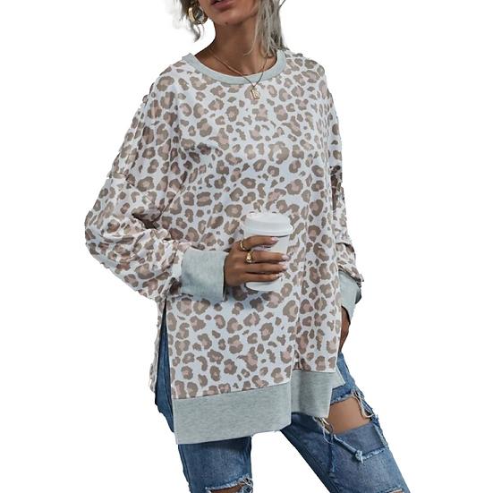 Lily leopard Sweatshirt
