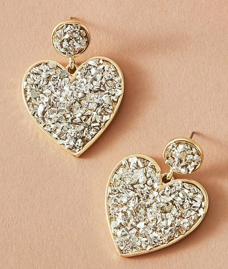 Amoura Heart Earrings