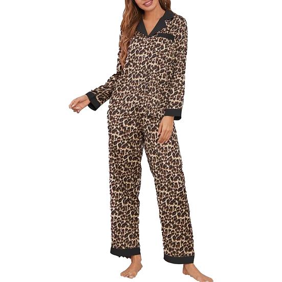 Victoria Leopard Loungewear