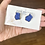 Thumbnail: Periwinkle Stone Earrings
