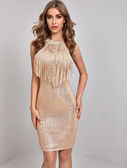 Finley Grace Fringe Dress