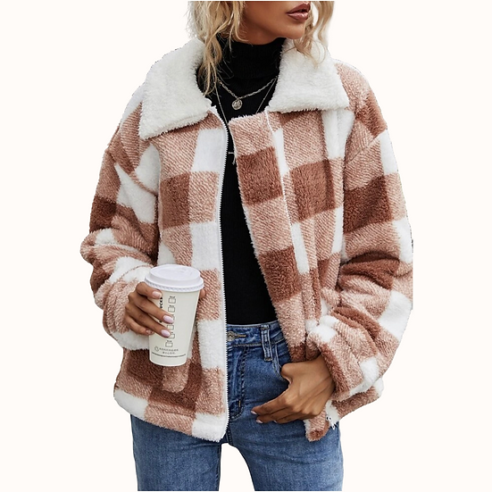 Mila Riley Plaid Coat