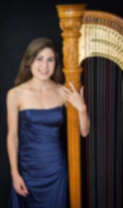 Colorado Springs harpist Haley Rhodeside