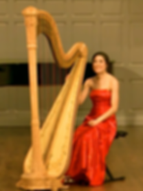 Colorado harpist Haley Rhodeside in concert