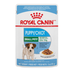 RC SHN Small Puppy Chunks in Gravy Pouch 12/85 gm