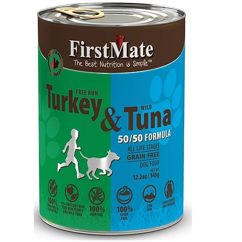 Free Run Turkey/Wild Tuna