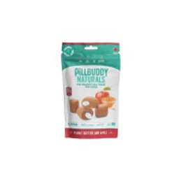 Pill Buddy Naturals Peanut Butter and Apple 150g 30ct