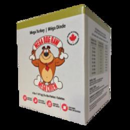 Mega Dog Raw Turkey Patties 4 lb